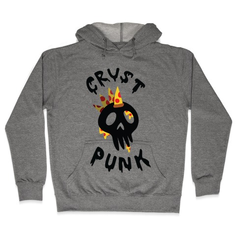 Crust Punk Hooded Sweatshirt