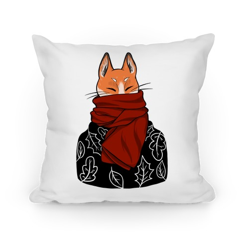 Autumn Fox Pillow