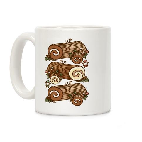 Holiday Yule Logs Coffee Mug