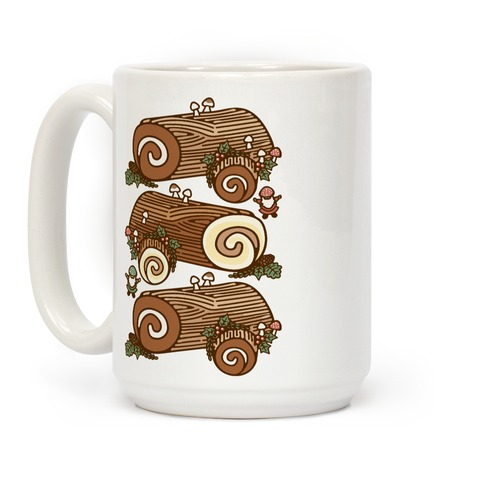 Holiday Yule Logs Coffee Mug