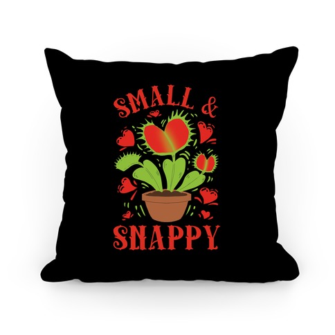 Small And Snappy Pillow