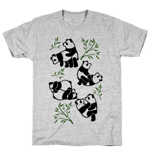 Pandas in Various Sexual Positions T-Shirt