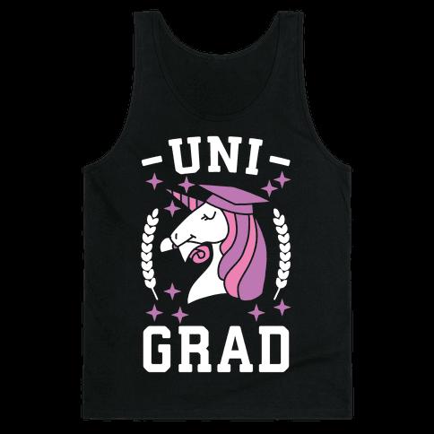 Uni Grad - Unicorn Tank Top