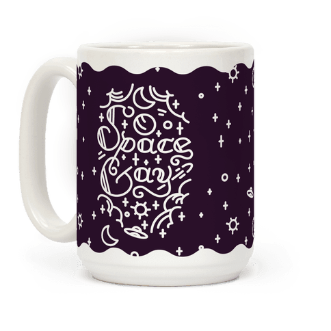 Space Gay  Coffee Mug