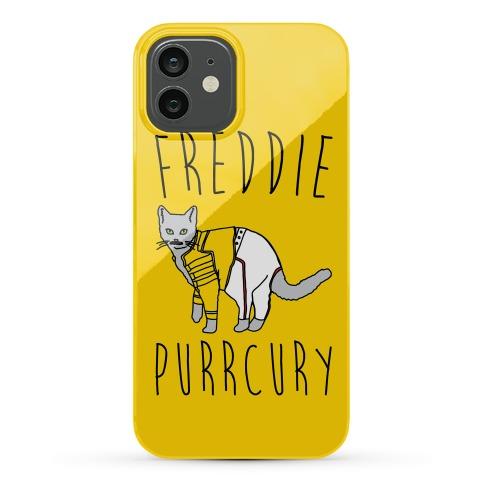 Freddie Purrcury Cat Parody Phone Case