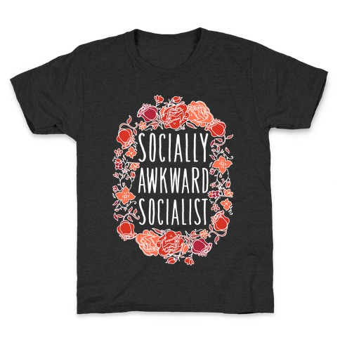 Socially Awkward Socialist Kids T-Shirt