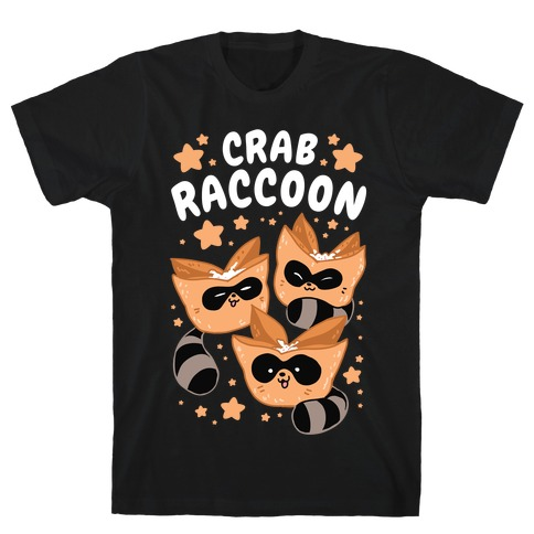 Crab Raccoon T-Shirt