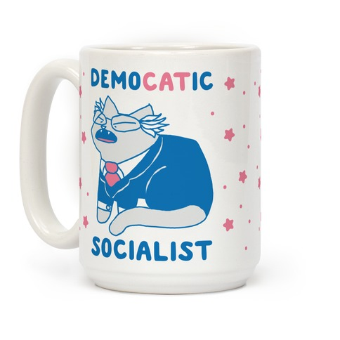 DemoCATic Socialist Coffee Mug