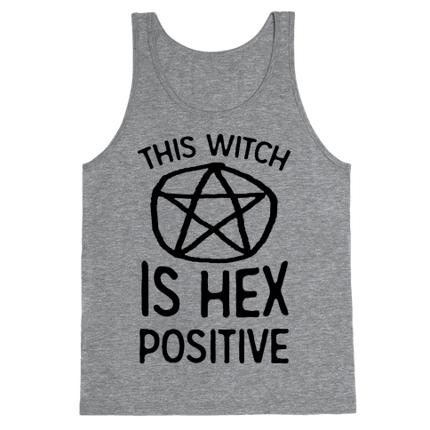 This Witch Is Hex Positive Tank Top