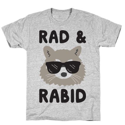 Rad & Rabid Mens T-Shirt