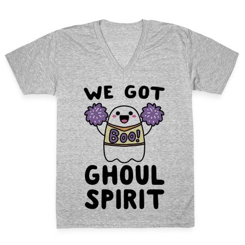 We Got Ghoul Spirit V-Neck Tee Shirt