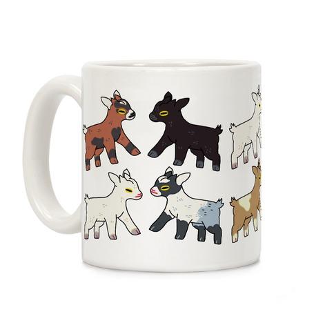Baby Goats On Baby Goats Pattern Coffee Mug