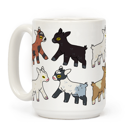 Baby Goats On Baby Goats Pattern Coffee Mug