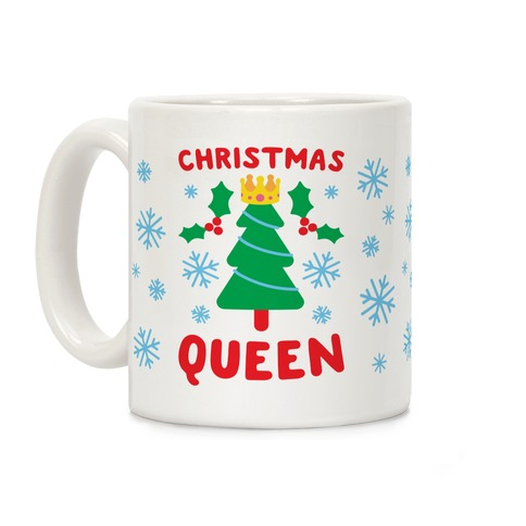 Christmas Queen Coffee Mug