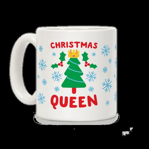 Christmas Queen Coffee Mug