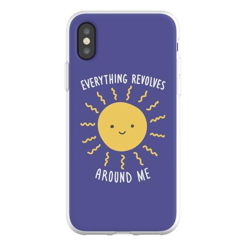Everything Revolves Around Me (Sun) Phone Flexi-Case