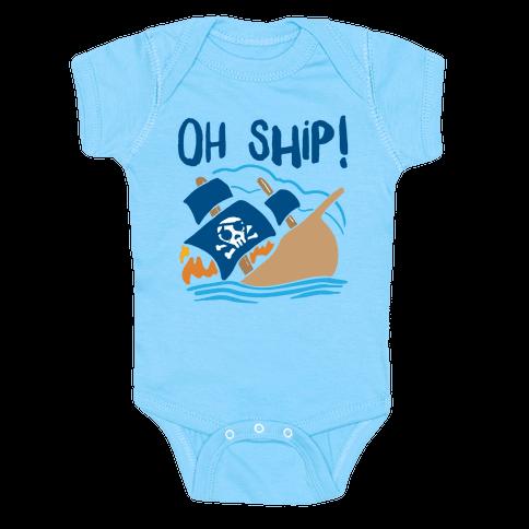 Oh Ship Baby Onesy