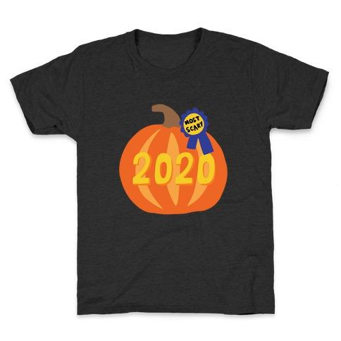 2020 : The Scariest Pumpkin Kids T-Shirt
