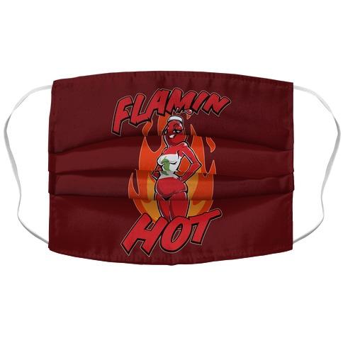 Flamin' Hot Sexy Hot Sauce Accordion Face Mask