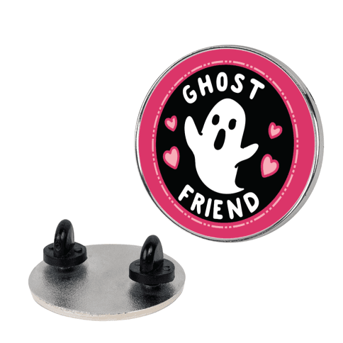 Ghost Friend Culture Merit Badge Pin