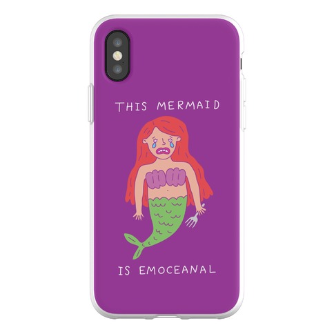 This Mermaid Is Emoceanal Phone Flexi-Case