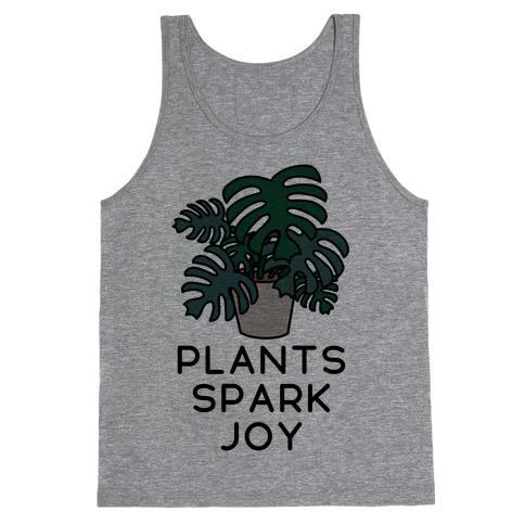 Plants Spark Joy Tank Top