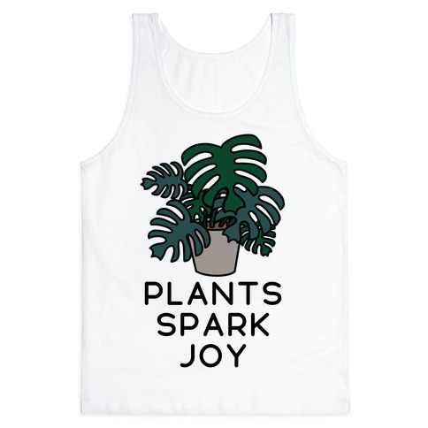 Plants Spark Joy Tank Top
