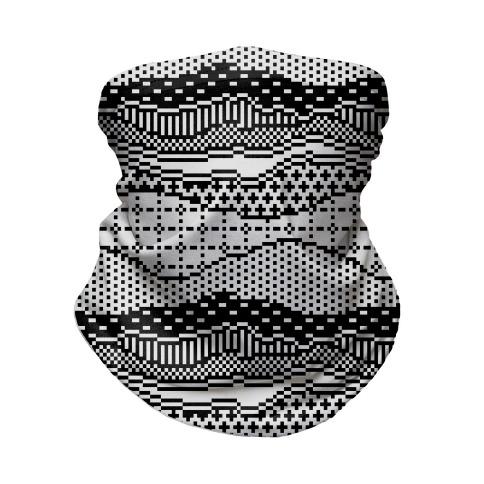 Pixel Waves Neck Gaiter