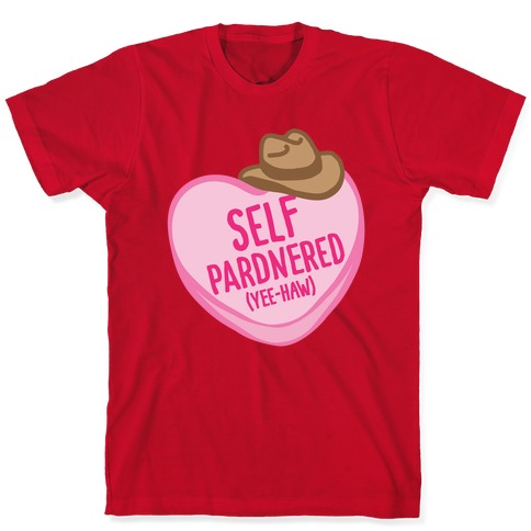 Self Pardnered White Print T-Shirt