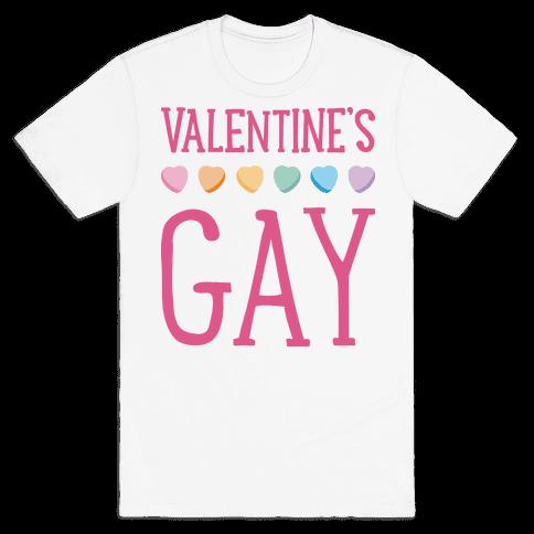 Valentine's Gay Mens T-Shirt