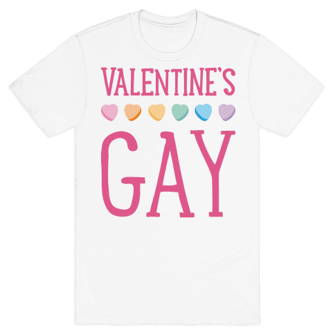 Valentine's Gay Mens T-Shirt