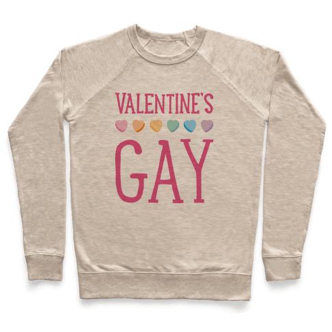 Valentine's Gay Pullover