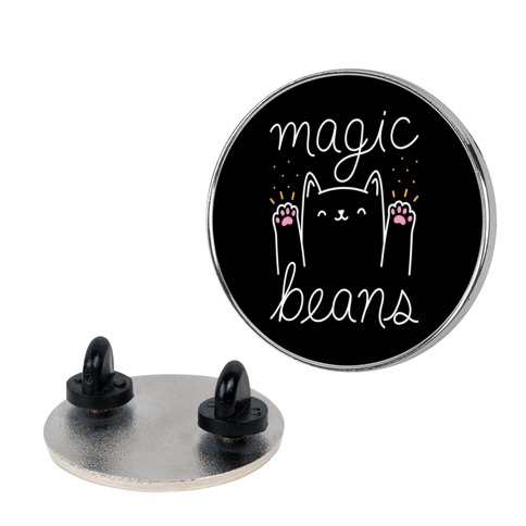 Magic Beans Cat Pin