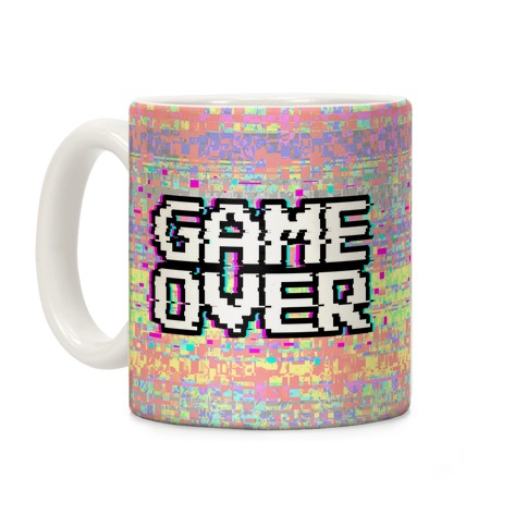 Retro Game Over Coffee Mug