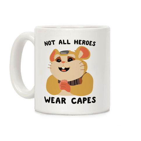Not All Heroes Wear Capes Hammond Coffee Mug