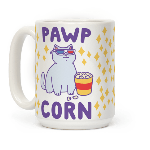 Pawpcorn Coffee Mug