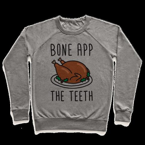 Bone App The Teeth Pullover