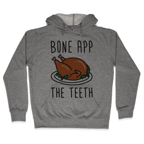 Bone App The Teeth Hooded Sweatshirt