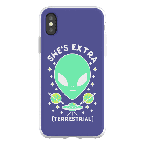 She's Extraterrestrial Phone Flexi-Case