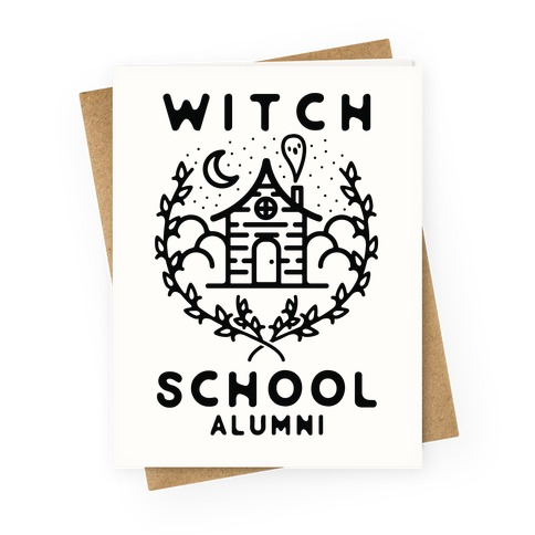 Witch School Alumni Greeting Card