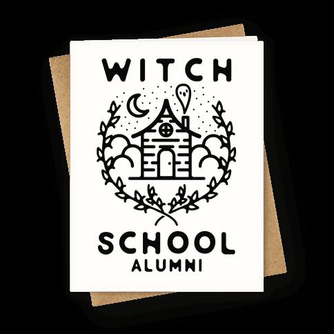 Witch School Alumni Greeting Card
