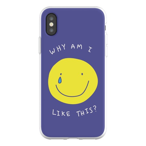 Why Am I Like This Phone Flexi-Case