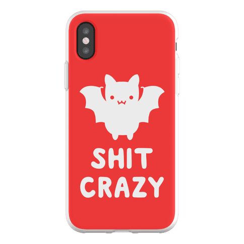 Bat Shit Crazy Phone Flexi-Case