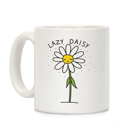 Lazy Daisy Coffee Mug