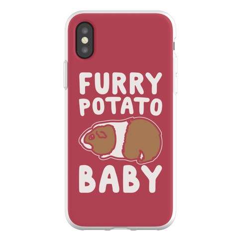 Furry Potato Baby Guinea Pig Parody Phone Flexi-Case