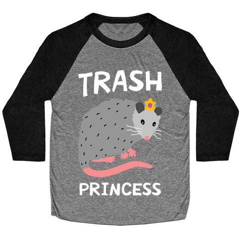 Trash Princess Baseball Tee
