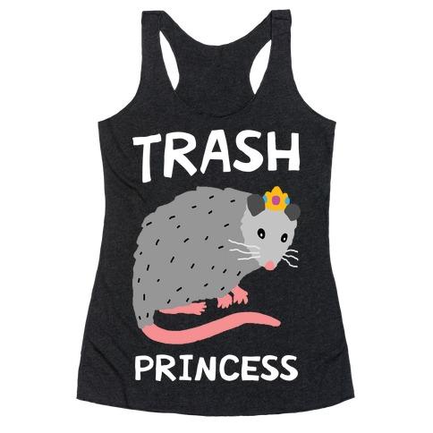 Trash Princess Racerback Tank Top