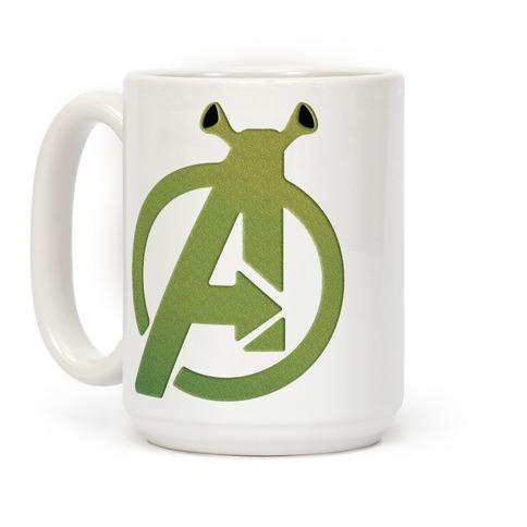 Avenge Shrek Parody Coffee Mug