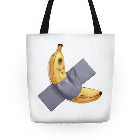 Banana Duct Tape Tote