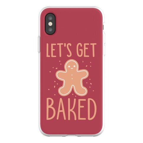 Let's Get Baked Gingerbread Phone Flexi-Case